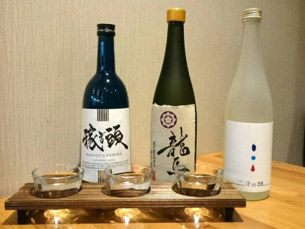 日本酒飲み比べ 地酒