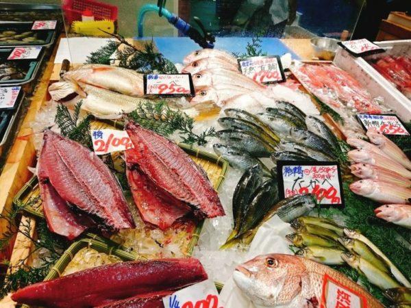 新鮮魚介 築地場外市場