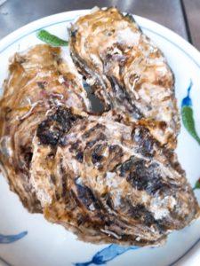 雪どけ牡蠣